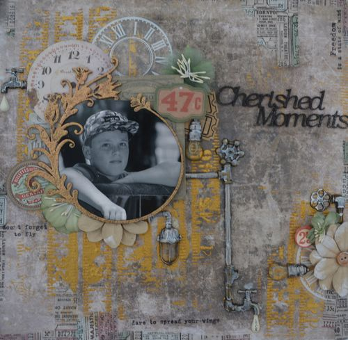 Cherished Moments Layout